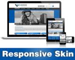Business-RoyalBlue Skin // Responsive Design // Tablet & Mobile // Slider Banner //DNN 5 & 6 & 7
