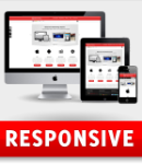 Across Red Responsive Layout Skin Pack & Typography Portal Templates