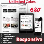 Maximum Black - Unlimited Colors, Images, Layouts - 5 Free Modules - Responsive Skin Mobile