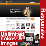 Athena Orange - Unlimited Colors, Images, Layouts - 5 Free Modules - Responsive Skin Mobile