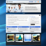 Mega DNN Skin Fluid Responsive Layout with Backgrounds PC, iPad and Smart devices & Slider DNN7.2