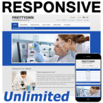 BS130315 - Blue Responsive DNN Skin / HTML5 & CSS3 / Slider / 960px Grid / Mobile / Unlimited Colors