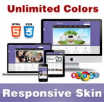 Stereo Skin // Grid Responsive // Unlimited Colors // Typography // Mobile HTML5 // DNN 5 & 6 & 7
