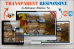 Transparent Responsive - Brown Color