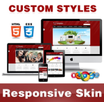 Stereo Skin // DarkRed // Responsive // Unlimited Colors // Typography // Mobile // DNN 5/6/7