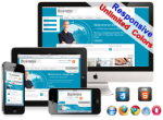 (DNN5/6/7) Unlimited Colors Business Responsive DNN Skin Pack 008 with CustomPanel/Gallery/Blog