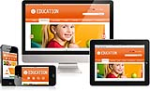 DNN5/6/7 Education Mobile DNN Skin 023 Mobile Desktop iPad Responsive/PhotoAlbums/Gallery/Blog