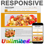 Food130329 Responsive DNN Skin / HTML5 & CSS3 / Bootstrap Typography / Mobile / Unlimited Colors