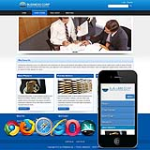Clean Mobile/PC  BlueResponsive/Skin 12408 with slide banner_2Skin Options/Home/inner Skin_4modules