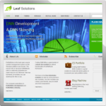 Leaf Solutions web 2.0 DNN Skin version 01.01.09