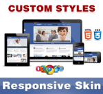 Company Skin // RoyalBlue // Responsive // Unlimited Colors // Typography // Mobile // DNN 5/6/7