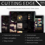 CuttingEdge FullScreen Background DNN Skin // Outstanding Blog // Portfolio // Gallery