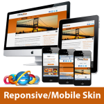 Responsive/Mobile Skins Pack*SunsetRed&Orange_Popeye Gallery+Social Groups_DNN6.2_60071.05_4 Modules