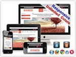 (DNN5/6/7) Unlimited Colors Business Responsive DNN Skin Pack 012 with CustomPanel/Gallery/Blog