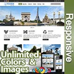 Poseidon Forest Green - Responsive Skin - Bootstrap - Corporate / Business / Mobile Tablet Skin