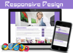 Business Purple 20100-Responsive/Mobile/PC Skin