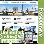 Poseidon Olive Green - Responsive Skin - Bootstrap - 6 Free Modules - Skin Customizer - Mega Menu