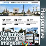 Poseidon Mirage Blue - Responsive Skin - Bootstrap - 6 Free Modules - Skin Customizer - Mega Menu