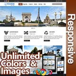 Poseidon Chocolate Brown - Responsive Skin - Bootstrap - Corporate / Business / Mobile Tablet Skin