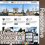 Poseidon Coffee Brown - Responsive Skin - Bootstrap - Corporate / Business / Mobile Tablet Skin