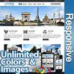 Poseidon Cool Blue - Responsive Skin - Bootstrap - Corporate / Business / Mobile Tablet Skin