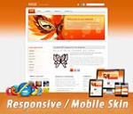 Mobile Skin_Any Busines 60067.06_Orang*6 Colors Value Pack_Any Business**_3 Free Modules_DNN5/6/7.x