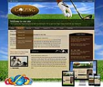 Mobile Golf Skin*Free 3 Modules_11467_Slider Head**Any Business_Custom BG_DIV CSS Skin DNN5/6/7.x