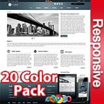 Ares 20 Colors Pack - Responsive Skin - Bootstrap - 6 Free Modules -  Mega Menu