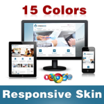 Corporate Skin (15 Colors) // Grid Responsive // Mobile HTML5 // Bootstrap Typography // DNN 5/6/7