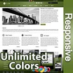 Ares Forest Green - Responsive Skin - Bootstrap - Corporate / Business / Mobile Tablet Skin