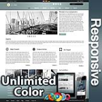 Ares Cadet Blue - Responsive Skin - Bootstrap - Corporate / Business / Mobile Tablet Skin