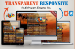 Transparent Responsive - Orange Color