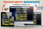 Transparent Responsive - Yellow Color