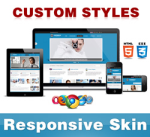 Company Skin // DodgerBlue // Responsive // Custom Style // Typography // Mobile // DNN 5/6/7