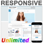 PT130420_Blue Responsive Skin / HTML5 & CSS3 / Unlimited Colors / Bootstrap Typography / Mobile