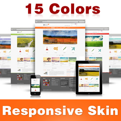 Bright Skin (15 Colors) // Grid Responsive // Mobile HTML5 // Bootstrap Typography // DNN 5/6/7