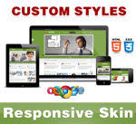 Company Skin // OliveDrab // Responsive // Custom Style // Typography // Mobile // DNN 5/6/7