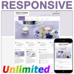 PT130420_Purple Responsive Skin / HTML5 & CSS3 / Unlimited Colors / Bootstrap Typography / Mobile