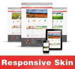 Bright-Red Skin // Responsive Design // Mobile HTML5 // Bootstrap Typography // DNN 5/6/7