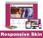 Grace-MediumVioletRed Skin // Responsive Design // Mobile HTML5 // Bootstrap Typography // DNN 5/6/7