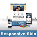 Designer-SteelBlue Skin // Responsive Design // Mobile HTML5 // Bootstrap Typography // DNN 5/6/7