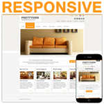 PT130420_Orange Responsive Skin / HTML5 & CSS3 / Bootstrap Typography / Mobile / Slider / Furniture