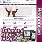 Neptune Violet Red - Responsive Skin - Bootstrap - Corporate / Business / Mobile Tablet Skin