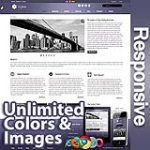 Ares Blue Grey - Responsive Skin - Bootstrap - Corporate / Business / Mobile Tablet Skin