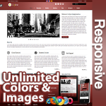 Ares Falu Red - Responsive Skin - Bootstrap - Corporate / Business / Mobile Tablet Skin