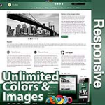Ares Sea Green - Responsive Skin - Bootstrap - Corporate / Business / Mobile Tablet Skin