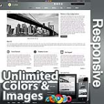 Ares Oslo Grey - Responsive Skin - Bootstrap - Corporate / Business / Mobile Tablet Skin