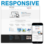 PT130709_Blue Responsive Skin / CSS3 / Slider / Bootstrap / Tablet / Mobile / Business / Corporate