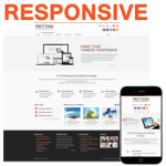 PT130709_Orange Responsive Skin / CSS3 / Slider / Bootstrap / Tablet / Mobile / Business / Corporate