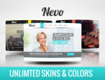 *SALE* Nevo - Unlimited Skins & Colors // Responsive // Banner Module // fonts // DNN 5/6/7